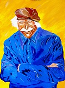 Bill Manson Paintings - Old Man Hawk-Artist Rendition by Bill Manson