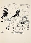 Old Man Kangaroo At Five Print by Rudyard Kipling