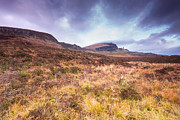 Skye Digital Art Posters - Old Man of Storr Poster by Keith Thorburn