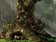 Tree Art Digital Art - Old Man of the Forest by Daniel Eskridge