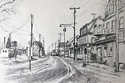 Route 9 Mixed Media Prints - Old Manahawkin Print by Martin Way