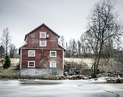 Old Mill 2 Print by Matti Ollikainen