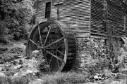 Gatlinburg Tennessee Prints - Old Mill in Tennessee Print by Mountain Dreams