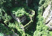 Mediterranean Plants Prints - Old Mill of Sorrento Print by Marilyn Dunlap