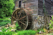 Gatlinburg Framed Prints - Old Mill Outside Gatlinburg Framed Print by Mountain Dreams