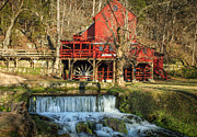 Mill Photographs Posters - Old Mill Stream Poster by Leroy McLaughlin