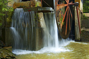 Old Mill Water Wheel Print by Paul W Faust -  Impressions of Light