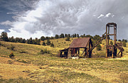 Old Gold Mine Framed Prints - Old Mine in Gilpin County Colorado Framed Print by James Steele