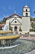 David  Zanzinger - Old Mission Church San Buenaventura