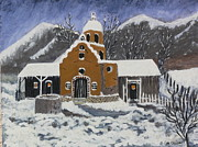 Mary M Collins - Old Mission in Winter