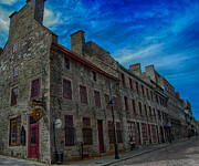 Old Montreal Art - Old Montreal Charm by Bianca Nadeau