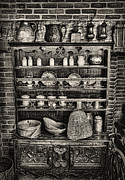 Cupboard Prints - Old Mother Hubbards Cupboard Print by Lee Dos Santos