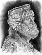 Scott Parker Metal Prints - Old Mountain Man Metal Print by Scott Parker