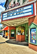 Small Towns Metal Prints - Old Movie Theater Metal Print by Tri State Art