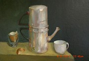 Italian Kitchen Paintings - Old Napoletano by Kathleen Hoekstra