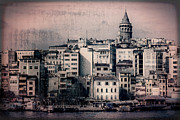 Byzantine Art - Old New District by Joan Carroll