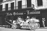 New Orleans Art Prints - Old New Orleans Louisiana - Vintage Print by Peter Art Print Gallery  - Paintings Photos Posters