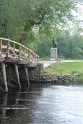 Concord Metal Prints - Old North Bridge Metal Print by Amy Porter