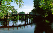 Concord Massachusetts Metal Prints - Old North Bridge Metal Print by Jo Ann Snover