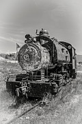 Locomotive Metal Prints - Old Number 3 Sugar Beet Train Metal Print by Edward Fielding