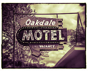 Urban Scene Digital Art Framed Prints - Old Oakdale Framed Print by Perry Webster