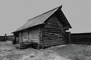 Old House Photos - Old Peasant house 2 by Evgeniy Lankin