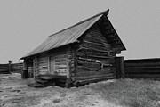 Old Peasant House 2 Print by Evgeniy Lankin