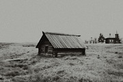 Old House Photos - Old Peasant House 3 by Evgeniy Lankin
