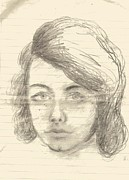 Anne-Elizabeth Whiteway - Old Pencil Sketch of Me