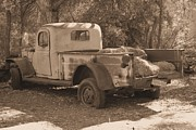 David Rizzo Metal Prints - Old pickup Metal Print by David Rizzo