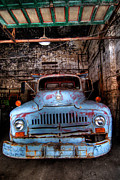 Truck Photos - Old Pickup Truck HDR by Amy Cicconi