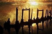 Marty Koch - Old Pier At Sunset