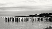 Frank Winters - Old Pier Provincetown 2012 B and W