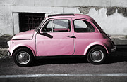 Number Originals - Old pink FIAT 500 by Stefano Senise