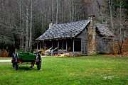 Jeff Mcjunkin Art - Old Pisgah Homestead by Jeff McJunkin