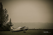 Charlie Duncan - Old Plane at Harvey...