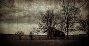 Shed Digital Art Metal Prints - Old Plantation Metal Print by Perry Webster