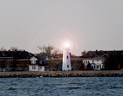 Old Point Comfort Lighthouse Print by Bob Swanson