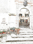 Shopartgallery    - Old Porch Elba Italy