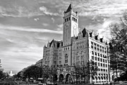 The White House Prints - Old Post Office and Pennsylvania Avenue Print by Olivier Le Queinec