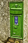 Mail Box Framed Prints - Old postbox Framed Print by Martina Fagan
