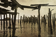 Imago Prints - Old Provincetown Wharf Print by Dave Gordon