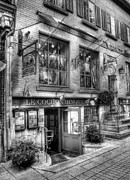 Quebec Art Prints - Old Quebec City 3 Print by Mel Steinhauer