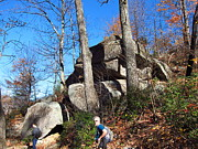 Hiking Prints - Old Rag Hiking Trail - 12129 Print by DC Photographer