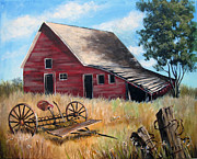 Carol Hart - Old Red Barn