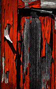 Abstract Photos - Old Red Barn Two 2 by Bob Orsillo