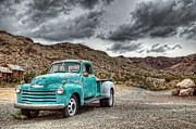 Old Chevy Truck Prints - Old Reliable Print by Eddie Yerkish