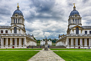 Royal Naval College Art - Old Royal Naval College by A Souppes