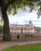 Naval College Prints - Old Royal Naval College Greenwich Print by Gill Billington