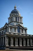 Royal Navy Art - Old Royal Naval College by Heather Applegate